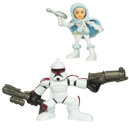 Star Wars Galactic Heroes Padme Amidala & Senate Trooper, NM