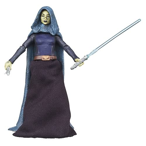 Star Wars Barriss Offee Jedi Padawan VC51 Figure, Not Mint