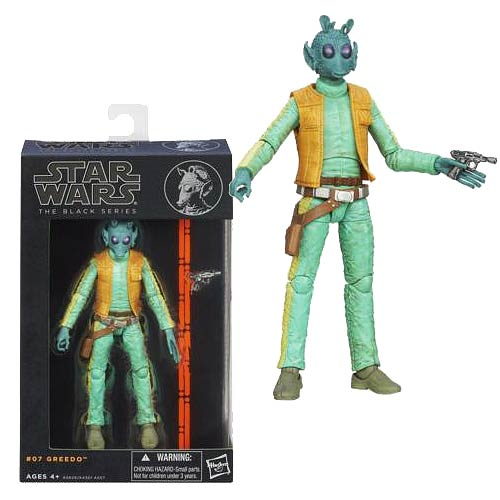 Star Wars Black Series #07 Greedo Action Figure, Not Mint