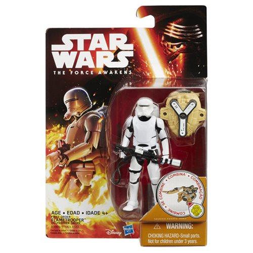 Star Wars VII First Order Flametrooper Figure, Not Mint