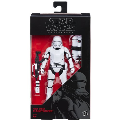 Star Wars Black Series Flametrooper 6-Inch Figure, Not Mint