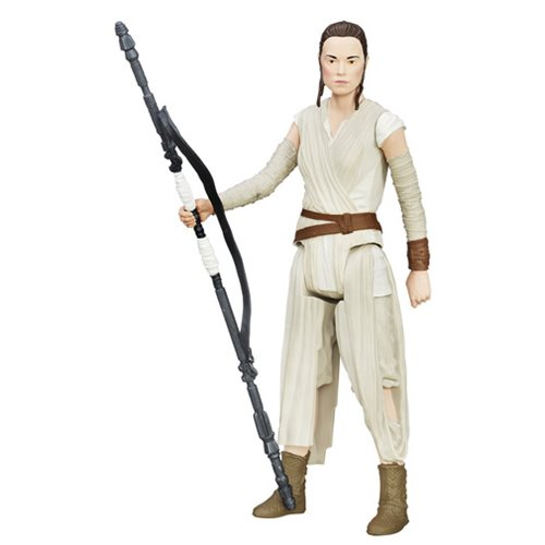 Star Wars TFA Hero Series Rey Jakku Figure, Not Mint