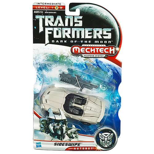 Transformers DOTM Mechtech Deluxe Sideswipe Figure, Not Mint