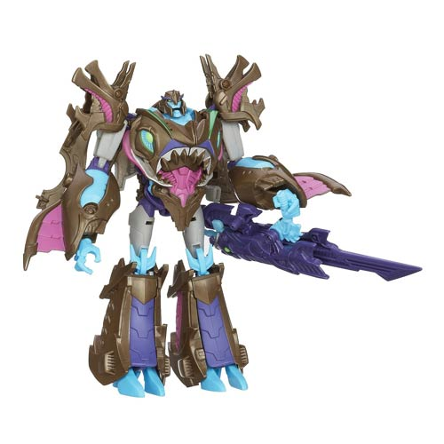 Transformers Prime Beast Hunter Voyager Figure Wav, Not Mint