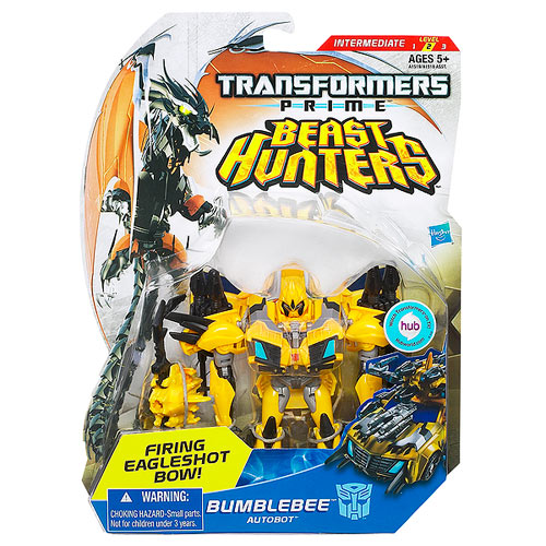 Transformers Prime Beast Hunter Bumblebee Figure, Not Mint