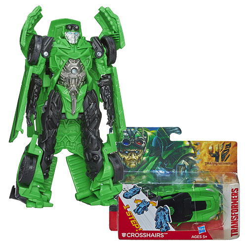 Transformers Crosshairs One-Step Changer, Not Mint