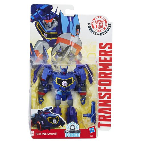 Transformers Robots in Disguise Warriors Soundwave, Not Mint