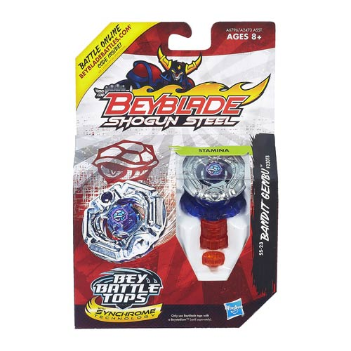 Beyblade Shogun Steel Battle Bandit Genbu Top, Not Mint