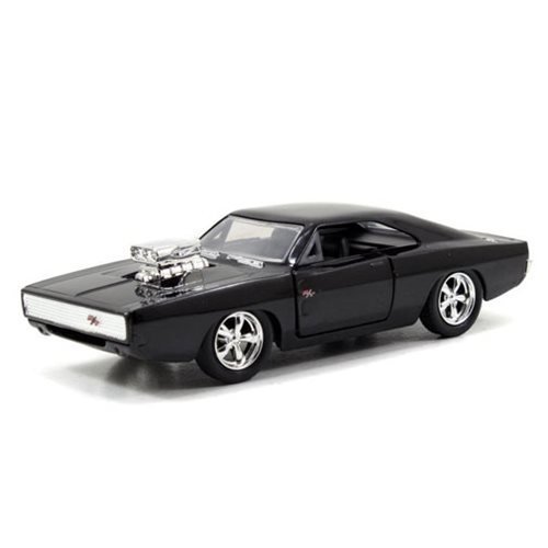 Fast and Furious Street Dodge Charger R/T Vehicle, Not Mint