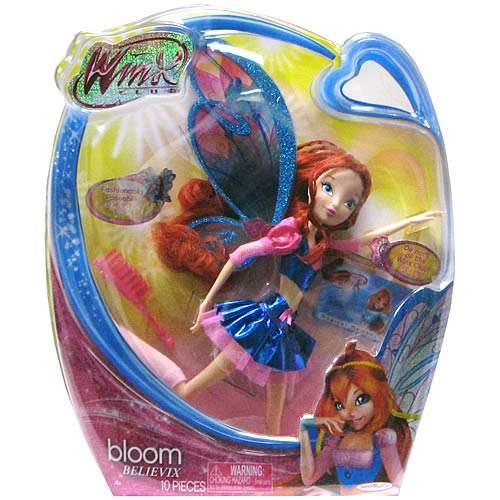 Winx Club Believix Bloom Fashion Doll , Not Mint