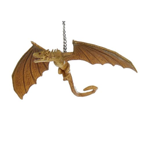 Game of Thrones Dragons Viserion 4-Inch Ornament, Not Mint