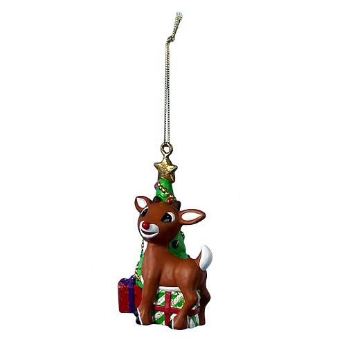Rudolph the Red Nosed Reindeer Blow Mold Ornament, Not Mint