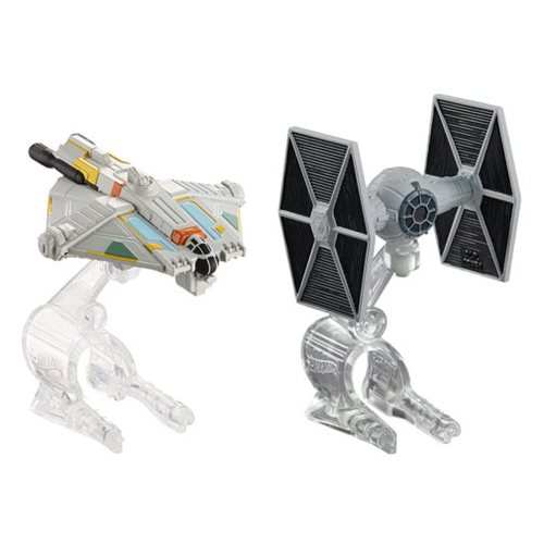 Star Wars Starship TIE Fighter vs Ghost 2-Pack, Not Mint