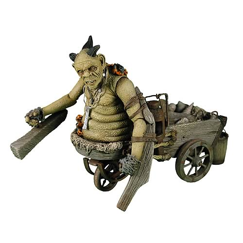 Hellboy II The Golden Army Goblin Action Figure, Not Mint
