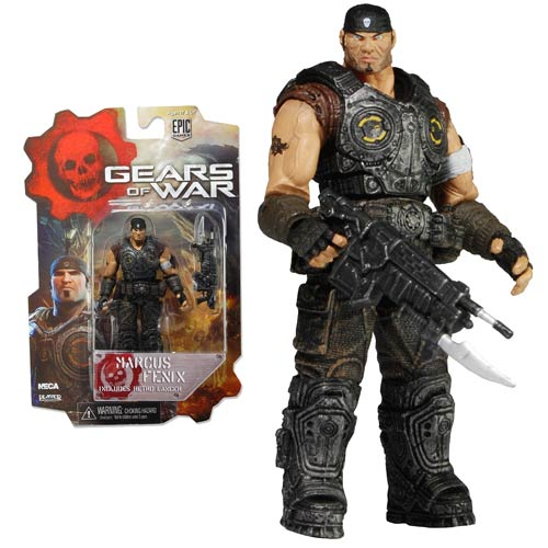 Gears of War Marcus Fenix 3 3/4-Inch Action Figure, Not Mint