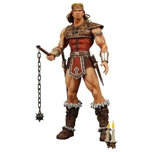 Player Select Castelvania Simon Belmont Figure, Not Mint