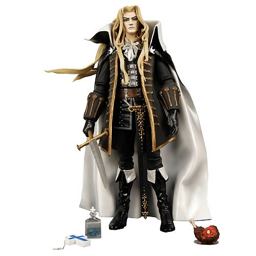 Player Select Castelvania Alucard Action Figure, Not Mint