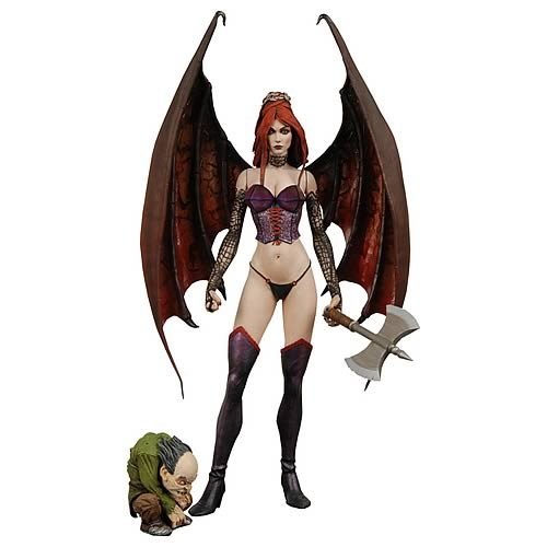 Player Select Castelvania Succubus Action Figure, Not Mint