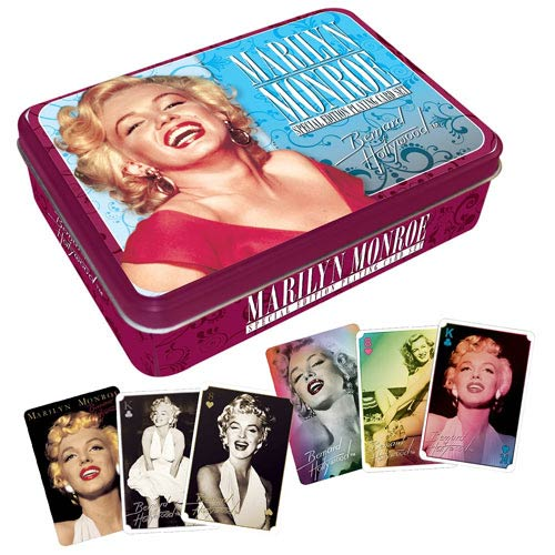 Marilyn Monroe Playing Card Tin