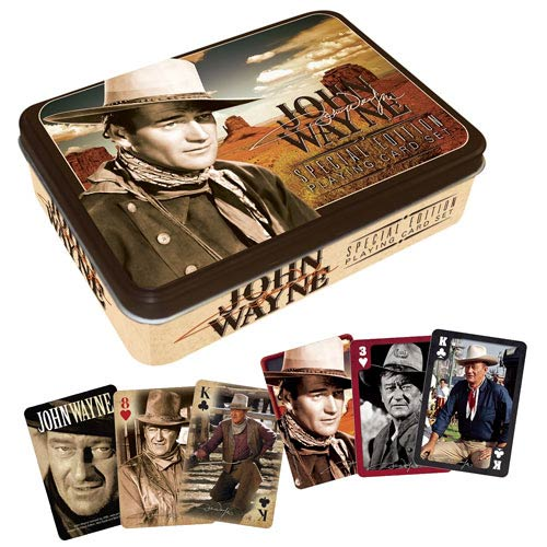 John Wayne Playing Cards Tin