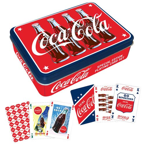 Coca-Cola Playing Card Tin