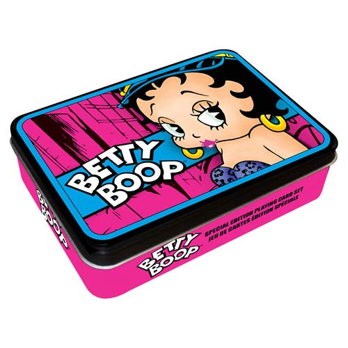 Betty Boop 2 Playing Card Tin