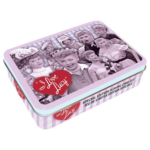 I Love Lucy 2 Playing Card Tin
