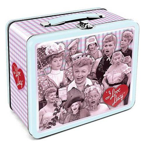 I Love Lucy Large Fun Box Tin Tote