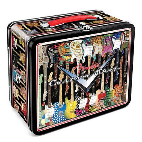 Fender Guitars Dream Factory Large Fun Box Tin Tote