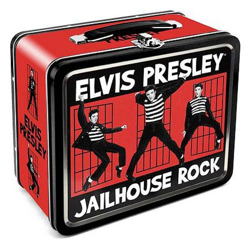 Elvis Presley Jailhouse Rock Large Fun Box Tin Tote