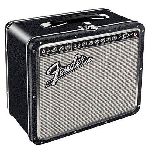 Fender Amp Large Fun Box Tin Tote