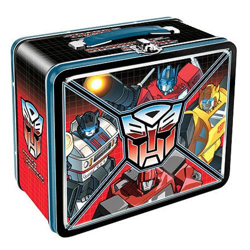 Transformers Autobot Large Fun Box Tin Tote