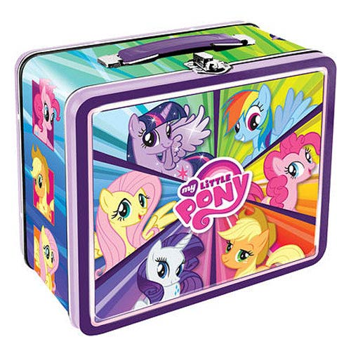 My Little Pony Tin Lunch Box