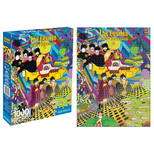 Beatles Yellow Submarine 1,000-Piece Puzzle