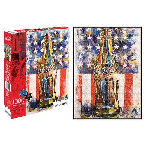 Coca-Cola Flag Art 1,000-Piece Puzzle