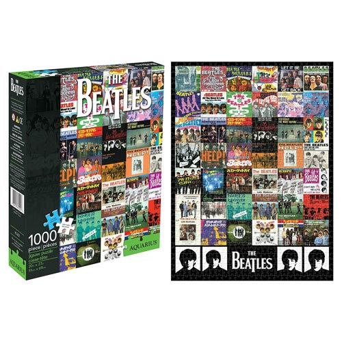 Beatles Singles 1,000-Piece Puzzle