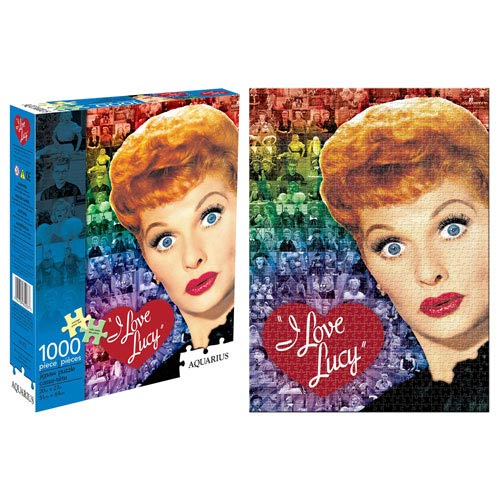 I Love Lucy Collage 1,000-Piece Puzzle