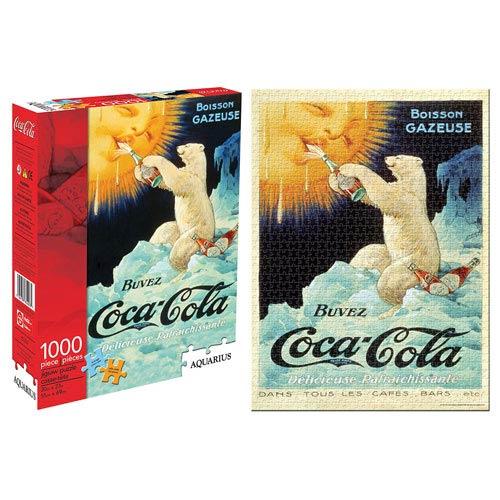 Coca-Cola Classic Bear 1,000-Piece Puzzle