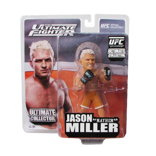 UFC Ultimate Collector Jason Miller Figure, Not Mint