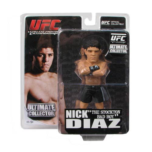 UFC Ultimate Collector Series 9 Nick Diaz Figure, Not Mint
