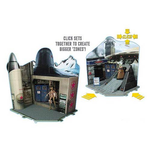 Doctor Who Time Zone Playset, Not Mint