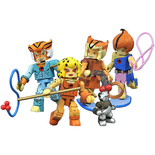 ThunderCats Minimates Series 3 Mini-Figure 5-Pack