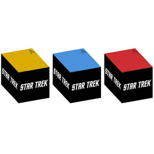 Star Trek The Original Series Sticky Note Cube 3-Pack