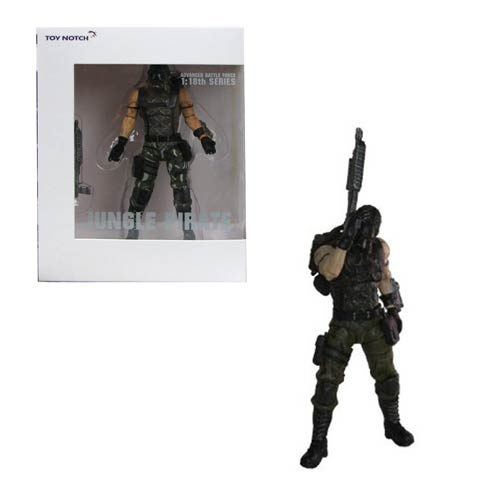 Lost Planet 2 Jungle Pirate 4-Inch Action Figure