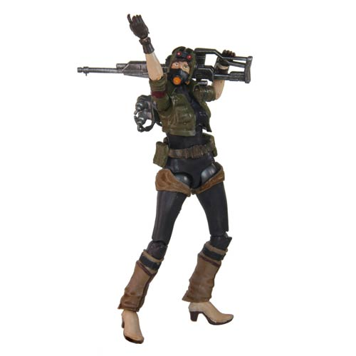 Lost Planet 2 Waysider Femme 4-Inch Action Figure