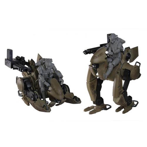 Lost Planet 2 GTF-13M Evax 4-Inch Action Figure