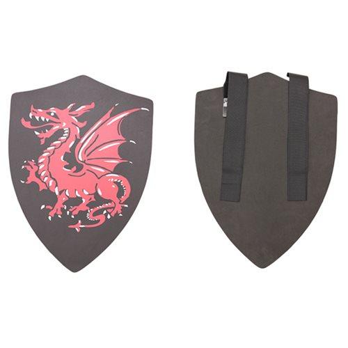 Hero's Edge Black Alantor with Red Dragon Foam Shield