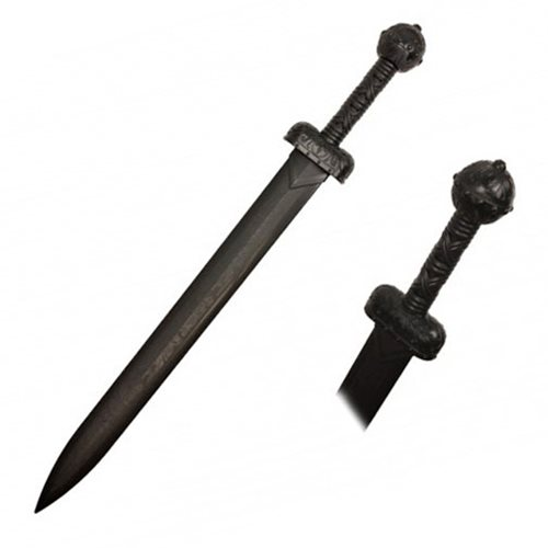 Hero's Edge Black Polypropylene Gladiator Sword