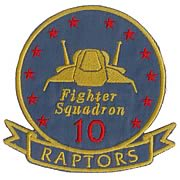Battlestar Galactica Raptor Pilot Premium Ship Patch