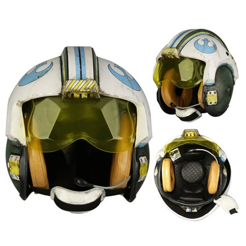 Star Wars General Merrick Blue Squadron Helmet Replica